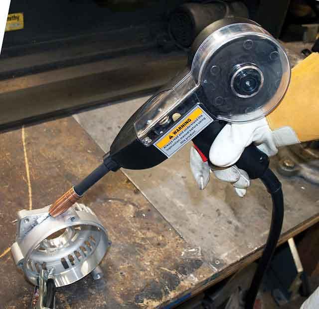 mig 175 amp welder with spool gun mig welders mig 175. Black Bedroom Furniture Sets. Home Design Ideas