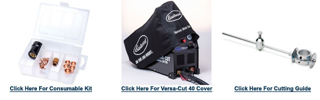 Eastwood Versa Cut 40 Amp Plasma Cutter Accessories