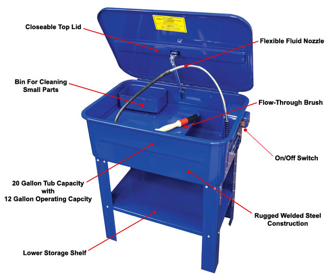 Eastwood 20 Gallon Parts Washer