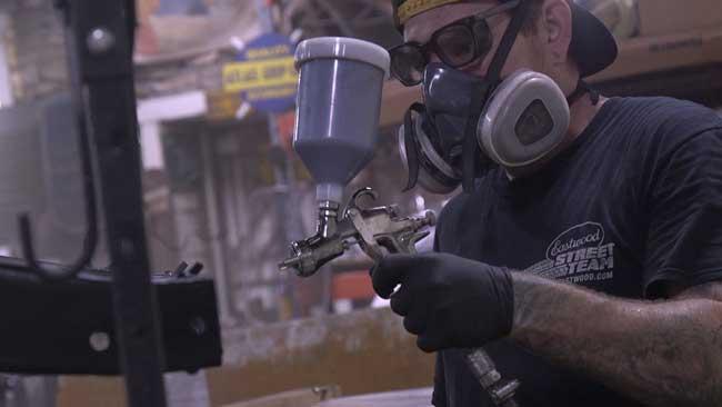 Eastwood Concours LT100 HVLP Paint Gun