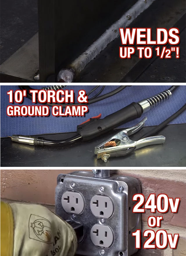 Eastwood MIG 250 amp Welder