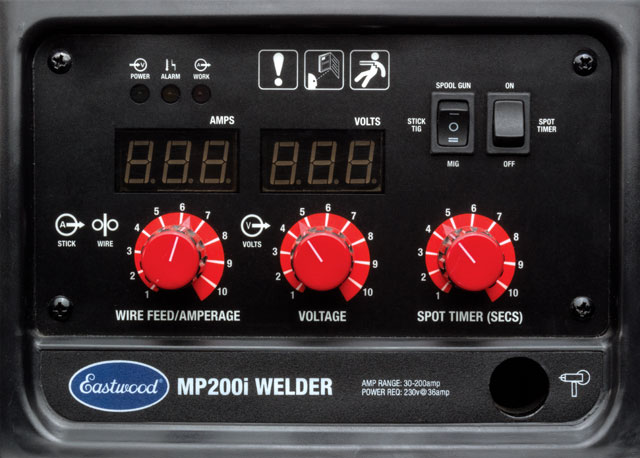 Eastwood MP200i Multi Process Welder