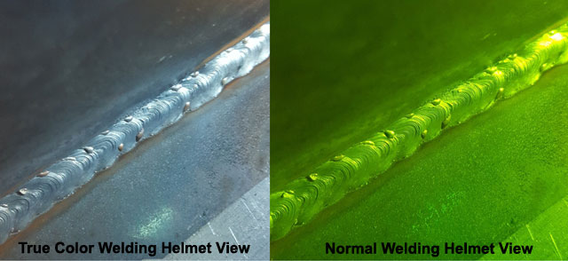 True Color Welding Vision