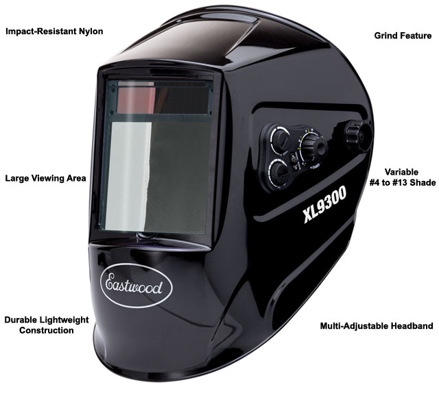 Eastwood XL View Auto Darkening Welding Helmet