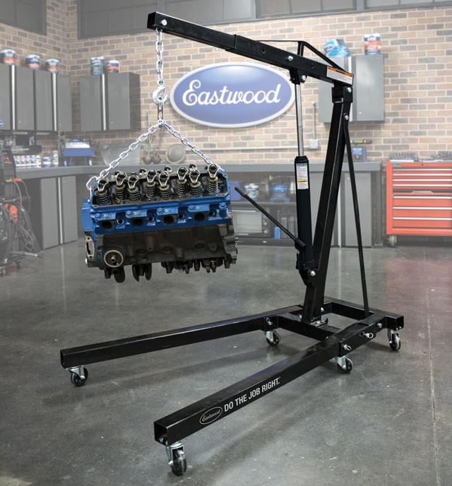 Eastwood 2 Ton Folding Engine Lift Crane