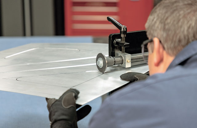 Add strength and rigidity to your project's sheet metal parts