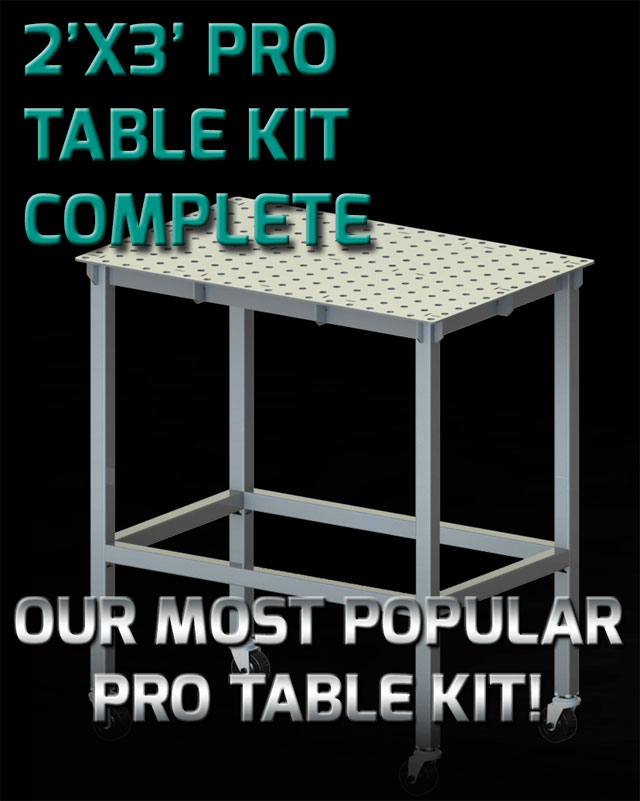 Certiflat Heavy Duty 2 X3 Welding Table And Leg Kit With