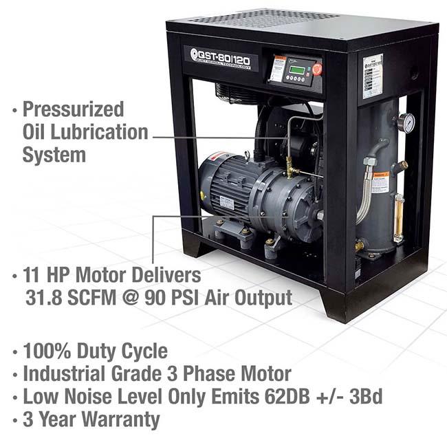 Eastwood Elite 80/120 Scroll Compressor