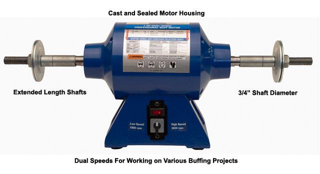 Eastwood 1 HP Buffing Motor