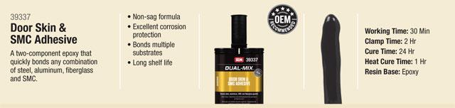 SEM Dual Mix Door Skin and SMC Adhesive