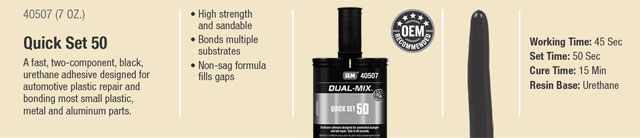 SEM Dual Mix Quick Set 50