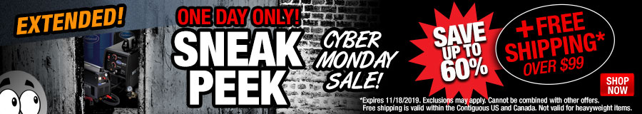 Cyber Monday Sneak Peek