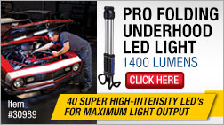 Eastwood Pro folding Underhood LED Light