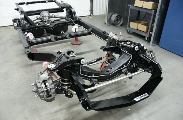 Corvette Chassis Restoration Restore A Classic Corvette