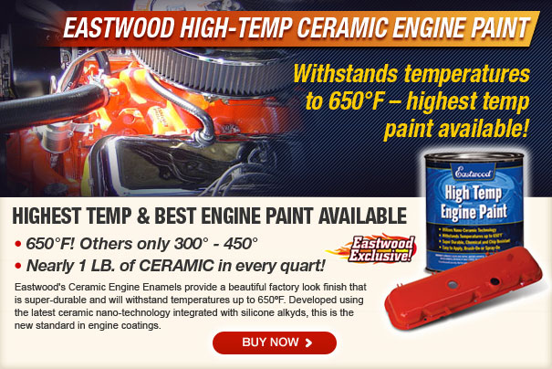 High Temp Ceramic Engine Paints