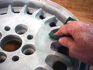 Polishing wheel aluminum polishing aluminum wheel for Dekote paint remover