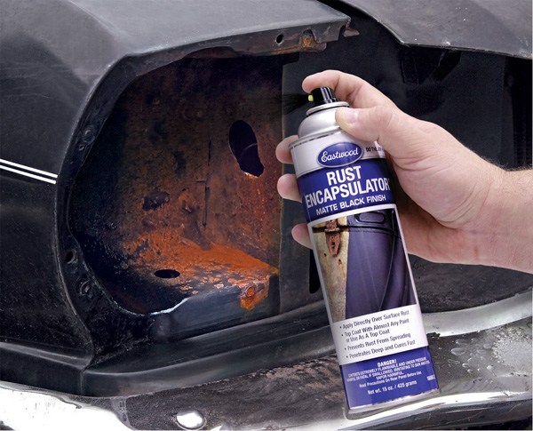 Rust protection done right for Undercoating with used motor oil