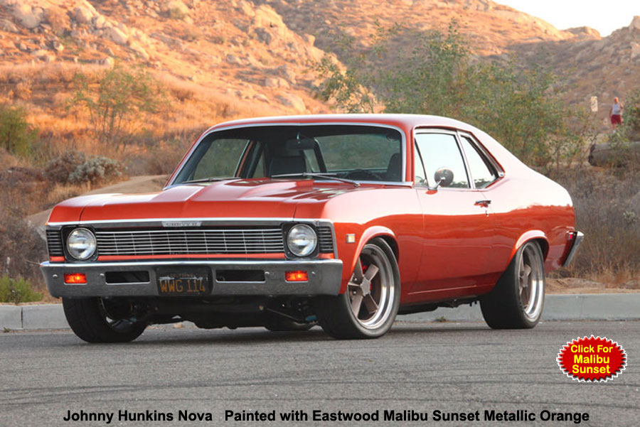 Eastwood Malibu Sunset Orange Metallic