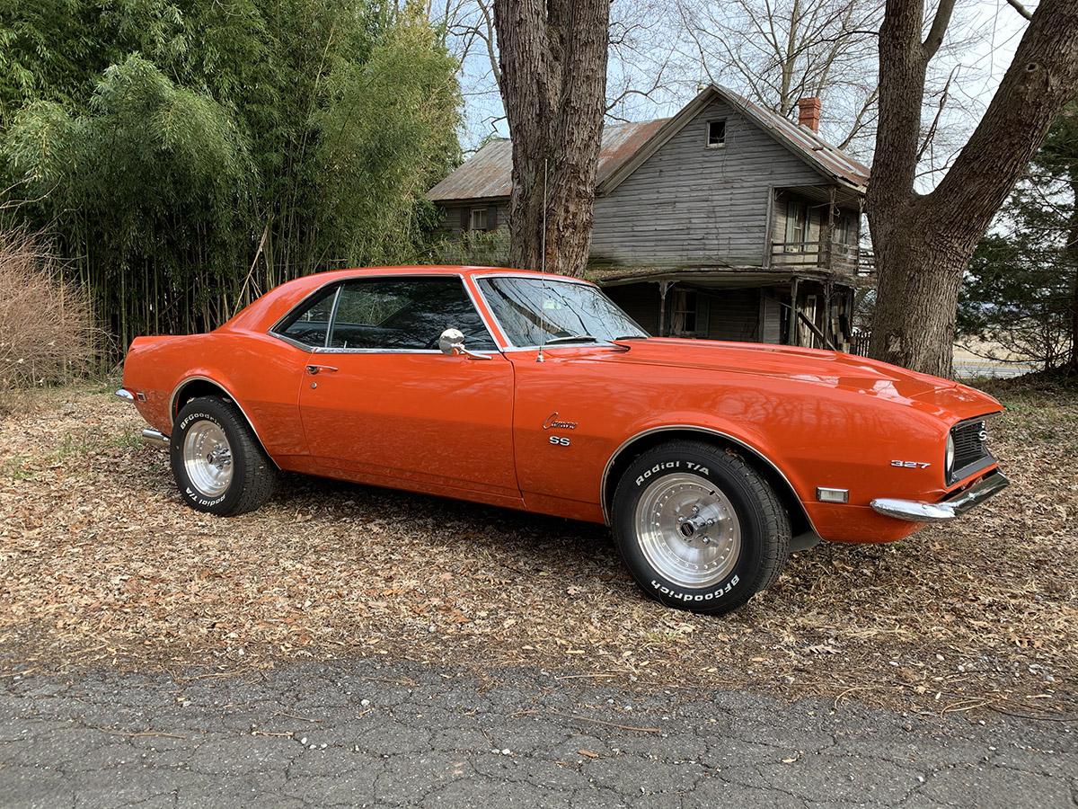 Eastwood Hugger Orange Paint