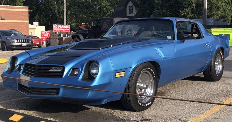 Eastwood Mulsanne Blue Metallic