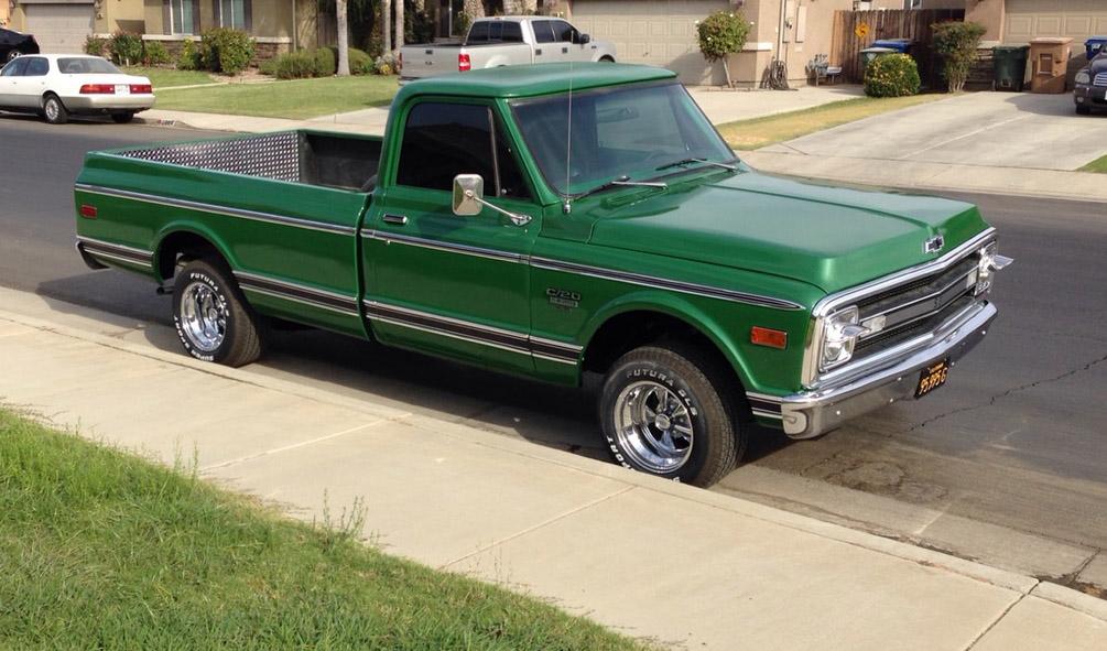 Eastwood Rallye Green Metallic Paint