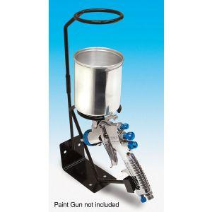 Gravity Feed Paint Gun Stand