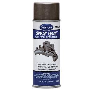 Spray Gray Detail Paint Aerosol 12 oz