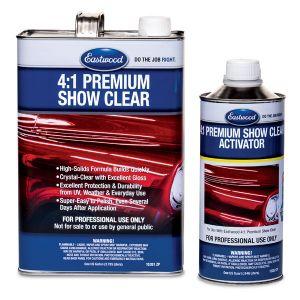 4:1 Premium Show Clear Kit 5 quarts