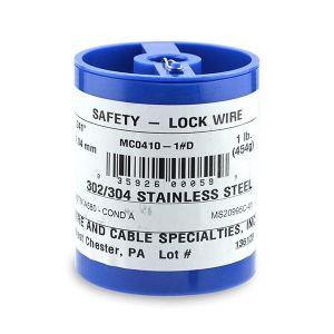 Safety Wire .041in 1 lb spool
