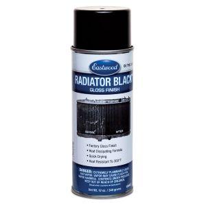 Radiator Black Paint Gloss Aerosol
