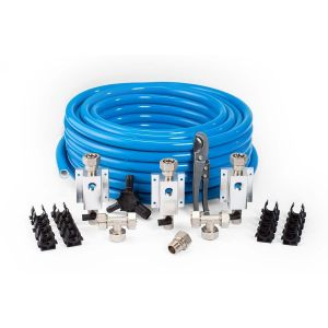 MaxlLine 3/4 Inch Professional Compressed Air Line Kit