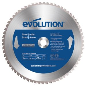 """Evolution 14"""" Steel Cutting Replacement Blade"""