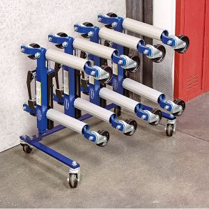 Eastwood Hydraulic Wheel Dolly 4pc Set with Rack