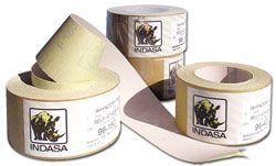 "Indasa Dry Use Plain Back Sandpaper 2.75"" x 82.75' Rolls"