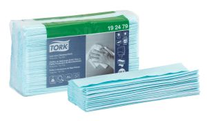 Tork Low-Lint Cleaning Cloth 100 Piece Top Pak - 192479