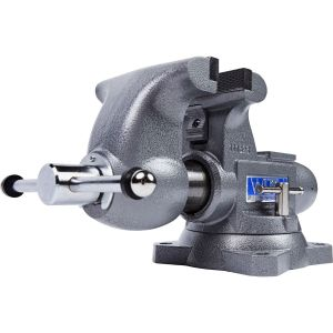"""Wilton Tradesman 6-1/2"""" Round Channel Vise with Swivel Base 1765"""