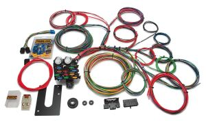Painless Classic Customizable Chassis Harness - Key In Dash - 21 Circuits