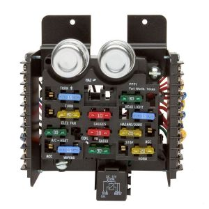 Universal Style Pre-Wired 14 Circuit Fuse Block