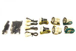 Painless GM Pickup Socket Pigtail Kit (Single Square Headlights) (80-87)
