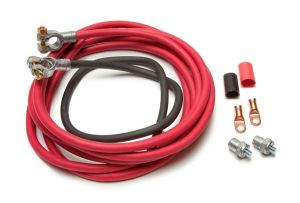 Battery Cable Kit (16 ft Red & 3 ft Black Cables)