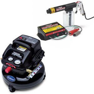 Eastwood PCS-250 Dual Voltage Powder Coating Gun and Pancake Compressor