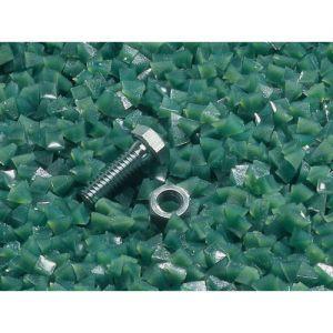 1/4 Inch Green Plastic Lite Cutting Tumbler Media 2 lbs