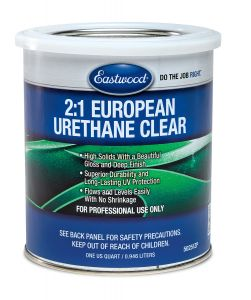 eastwood european clear 2:1 clearcoat