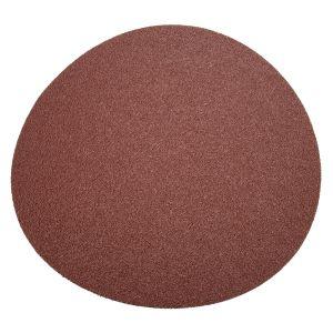 """Precision Abrasives 12"""" PSA Aluminum Oxide 12"""" Round - 40 Grit"""
