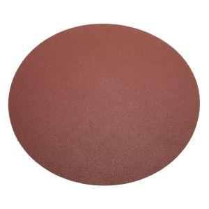 """Precision Abrasives 12"""" PSA Aluminum Oxide 12"""" Round - 80 Grit"""