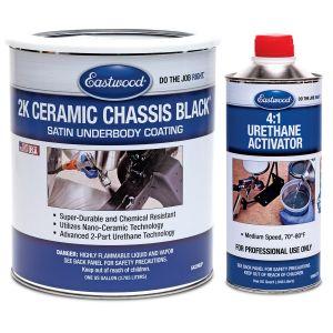 eastwood 2k ceramic chassis black satin gallon paint