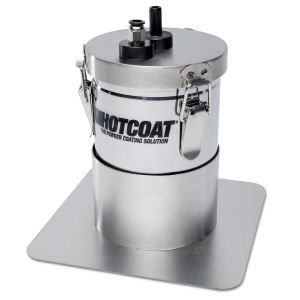 Elite HotCoat 2LB Hopper and Stand