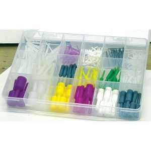 Silicone Pull Plug KIT .062in-.809in O.D.125 pc