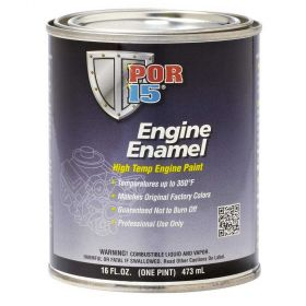 POR15 Engine Enamel Aluminum Pint