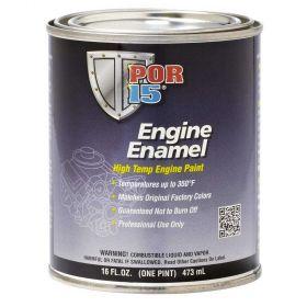 POR15 Engine Enamel Black Pint